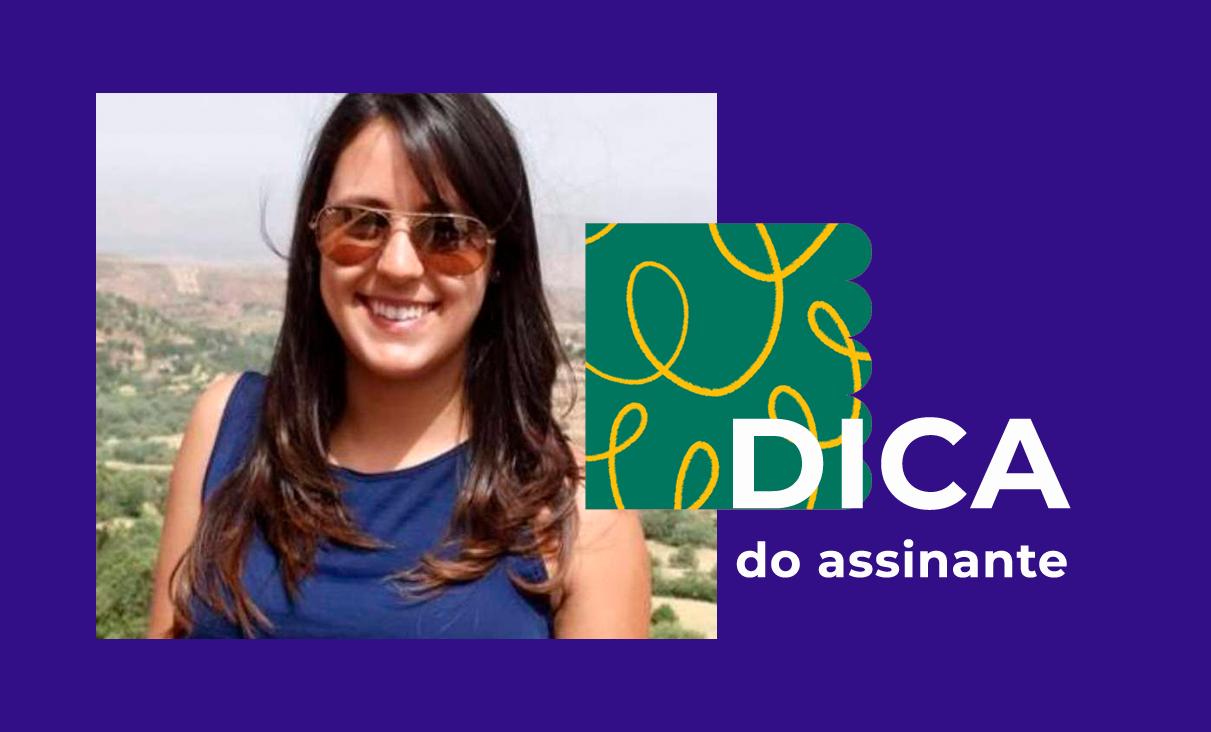 Julianna Lang aproveita os descontos do Clube Gazeta do Povo. Foto: Arquivo Pessoal.