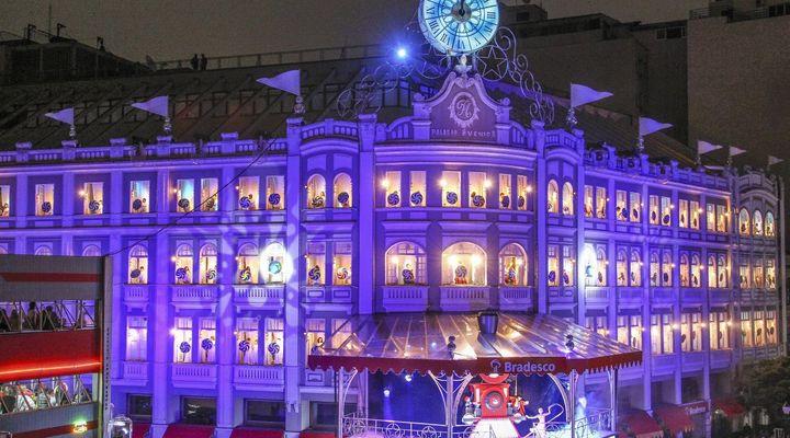 Espetáculo de Natal do Palácio Avenida tem datas e horários confirmados