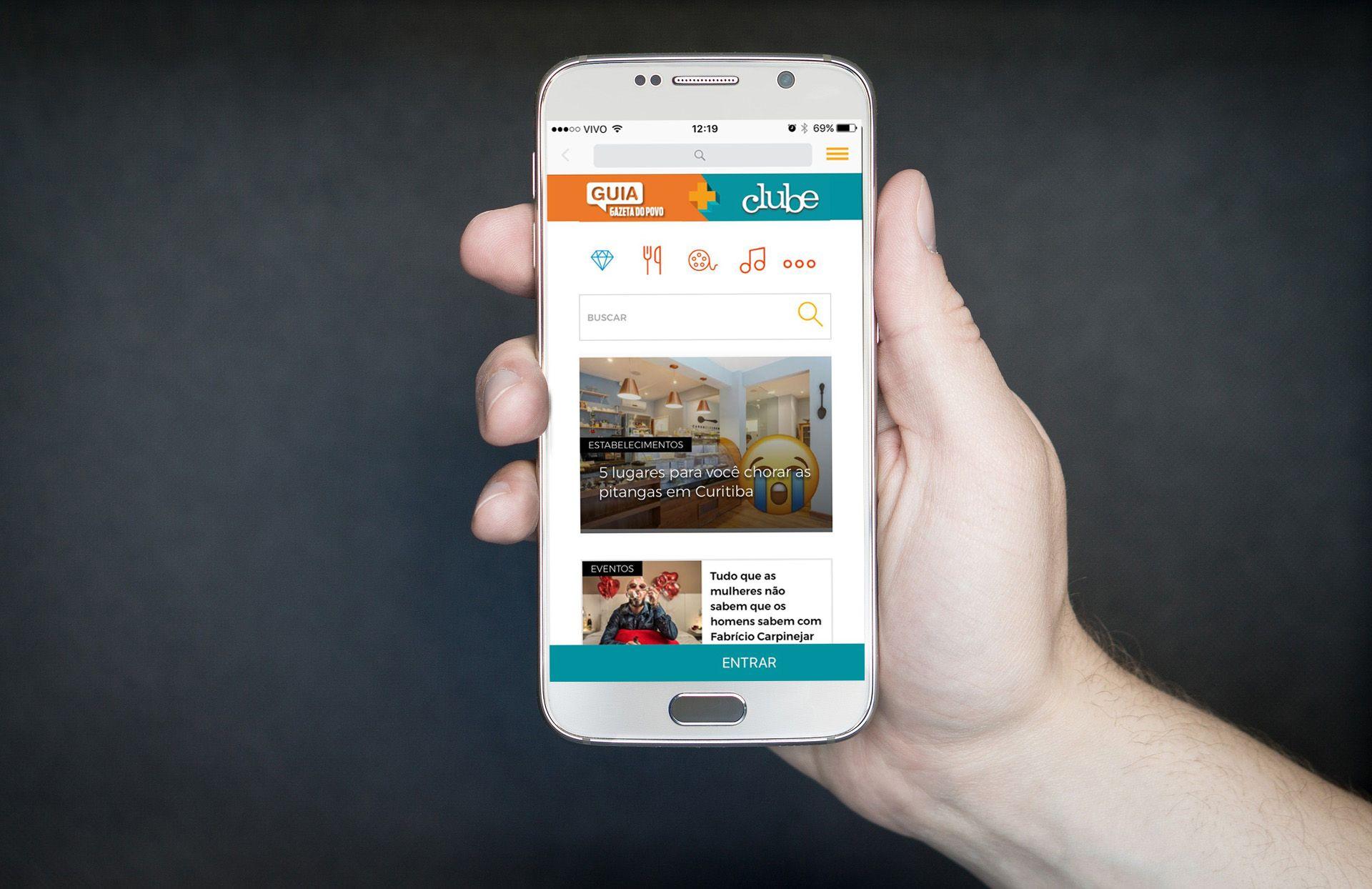 6a38ae2c1 Baixe o app do Guia + Clube para saber onde se divertir e quanto você pode  economizar