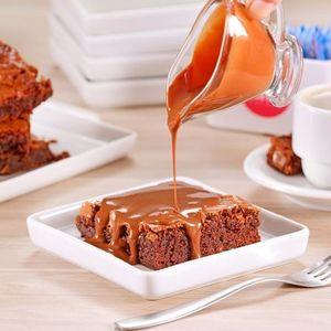 Brownie  sem glúten e lactose | Funfit